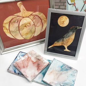 Fall Alcohol Ink Class